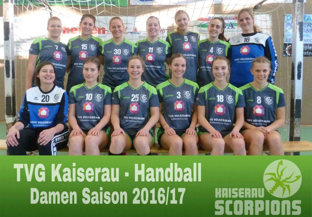 Damen Saison 2016-17
